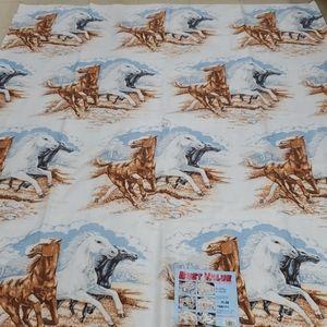 NEW VINTAGE HORSES 70x88 HORSE STALLION BLANKET C